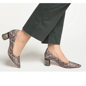 Kelly & Katie Snake Print Pointed toe pump size 7